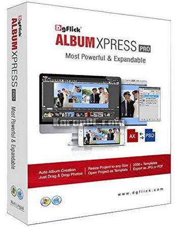 DgFlick Album Xpress PRO 12.0 + Crack+free download